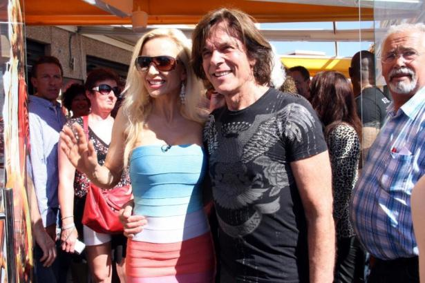 Jürgen Drews mit seiner Frau Ramona 2012 auf Mallorca.