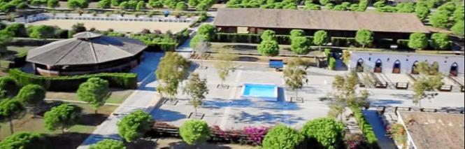 Luftbild von Es Fangar.