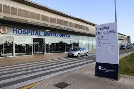 Das Mateu-Orfila-Krankenhaus in Mahón.