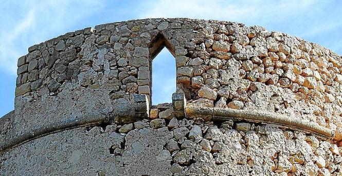Der Turm von Palmanova ist bekannt unter dem Namen Na Nadala.