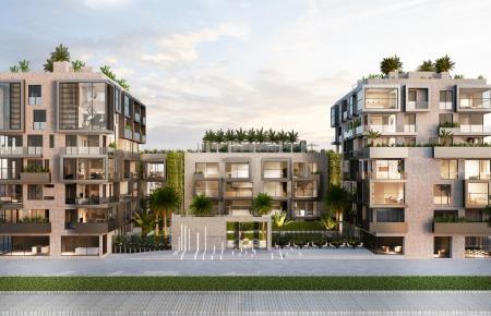 Ein Rendering der geplanten Appartment-Anlage.
