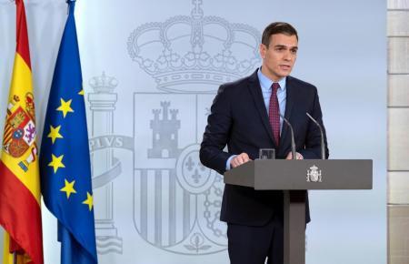 Spaniens Ministerpräsident Sánchez.