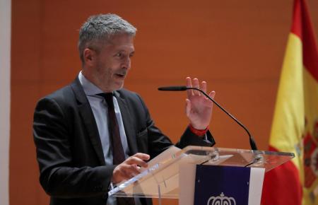 Spaniens Innenminister Grande-Marlaska.