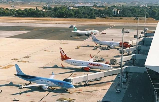 So geschäftig wird es in den kommenden Wochen nicht mehr auf dem Palma-Airport zugehen.