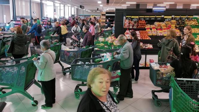 Supermarkt in Palma de Mallorca.