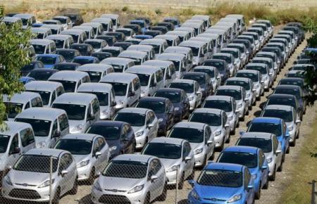 Auf Mallorca gibt es üblicherweise eine hohe Mietwagendichte.