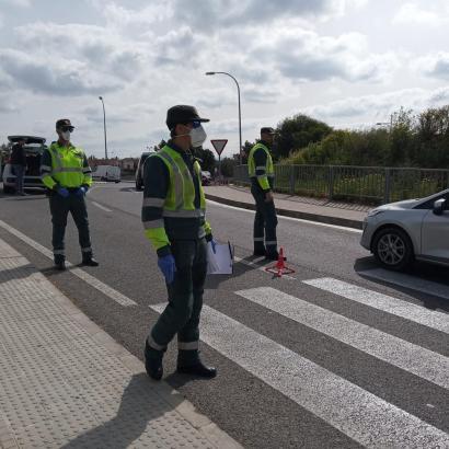 Die Guardia Civil ist sehr auf der Hut.