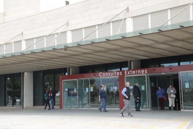 Eingang zum Krankenhaus Son Llàtzer.