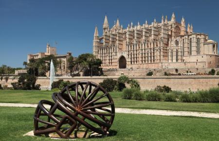 Die Kathedrale von Mallorca ist vorerst nicht mehr zugänglich.