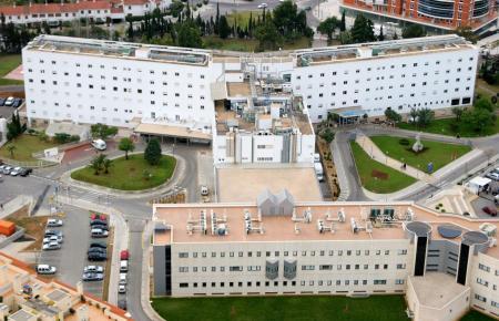 Blick auf die Miramar-Klinik in Palma, die zu Juaneda gehört.