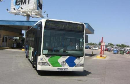 Die Busse zum Airport entfallen während der Ausgangssperre.