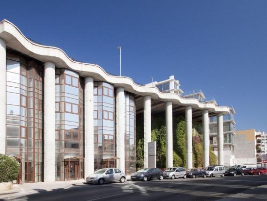 Das Hotel Catalonia Majorica befindet sich in Hafennähe in Palma.