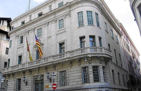 Die Vertretung der spanischen Zentralregierung in Palma.