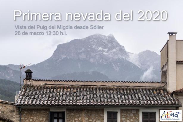 So sah der Puig Major aus Richtung Sóller aus.