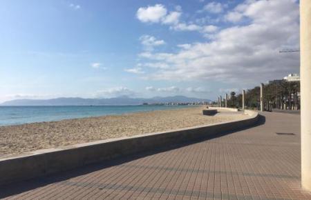 Die Urlaubergegend an der Playa de Palma ist derzeit eine tote Zone.