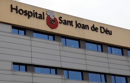 Das Krankenhaus Sant Joan de Deu auf Mallorca.
