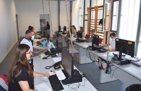 33 Mitarbeiter koordinieren alles rund um das Thema Corona-Virus in Palma.