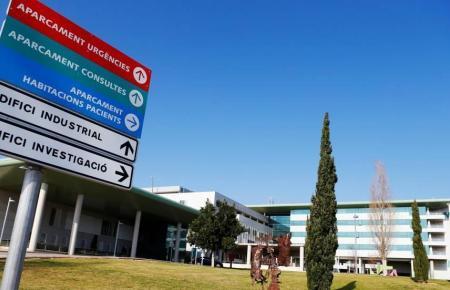 Blick auf den Eingangsbereich des Son-Espases-Krankenhauses.