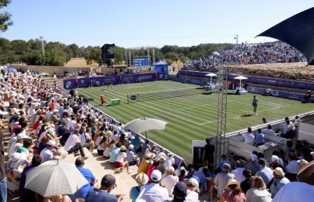 Im vergangenen Jahr gehörten die Rasenplätze des Santa Ponça Country Clubs noch den Mallorca Open der Damen. Für das neue Herren-Turnier soll der Centre-Court vergrößert werden.