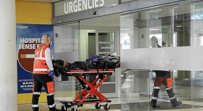 Im Gegensatz zu anderen Regionen ist die Lage in den balearischen Kliniken derzeit noch relativ ruhig.