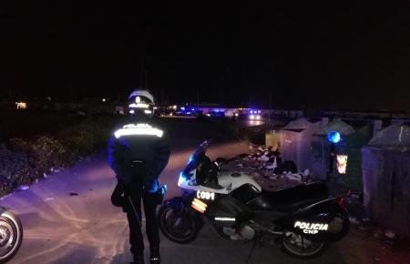 Rund 20 Polizeibeamte waren im Einsatz.