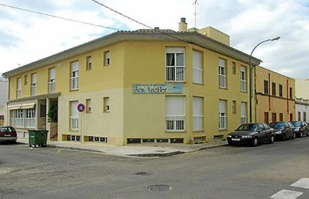 Die geschlossene Seniorenresidenz in Palmas Stadtviertel Es Vivero.