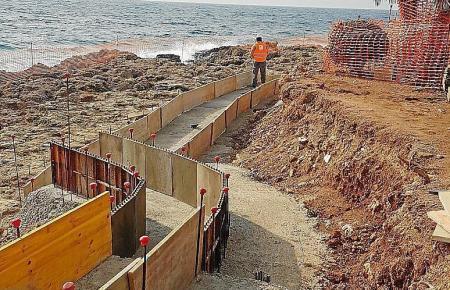 Die Ausbesserung in Cala Gat sollen 2,2 Millionen Euro kosten.