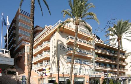 Blick auf das Hotel Mirador in Palma.