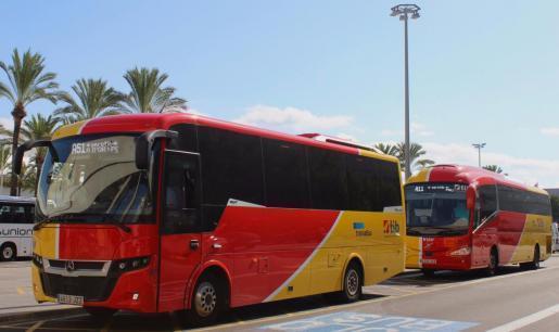 Der Fahrplan für die Überlandbusse der Betreibergesellschaft TIB wurde wegen des Alarmzustands weiter stark eingeschränkt.