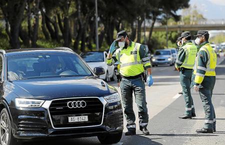 Auch auf der Flughafenautobahn wird verstärkt kontrolliert.