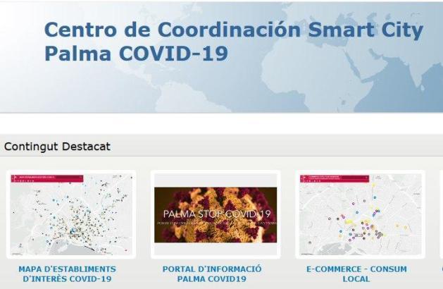 Das Portal in Zusammenarbeit mit Smart City Palma und Experten gibt Aufschluss über besonders sensible Zonen der Stadt.