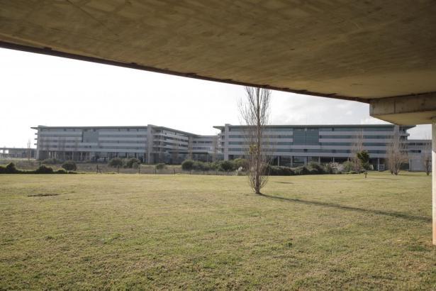 Blick auf das Klinikum Son Espases.