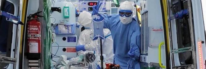 Ärzte im Einsatz.