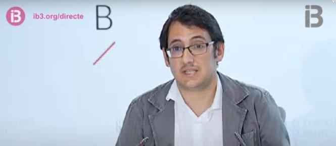 Tourismus- und Arbeitsminister Iago Negueruela.