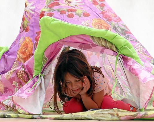 Höhlen dienen Kindern als Rückzugsort.