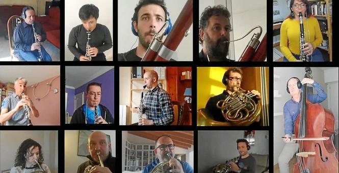 Künstler tun sich derzeit zusammen, um online musikalische Vielfalt zu bieten.