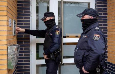 Das Archivfoto zeigt einen Polizeieinsatz in Palma de Mallorca.