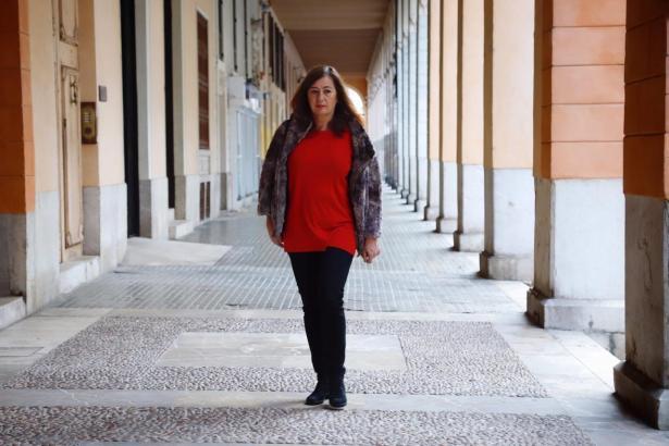 Ministerpräsidentin Francina Armengol kürzlich in Palma.