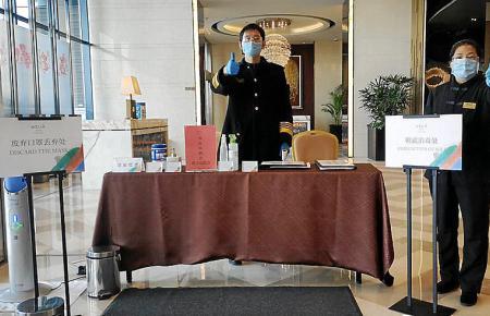 So werden die Gäste bei Meliá in China begrüßt.