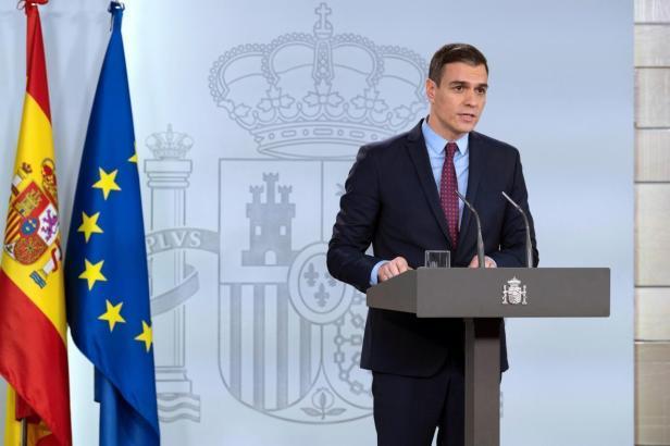 Am Dienstag verkündete Spanies Premier Padro Sánchez seinen Fahrplan für den Exit aus den strengen Corona-Regeln.