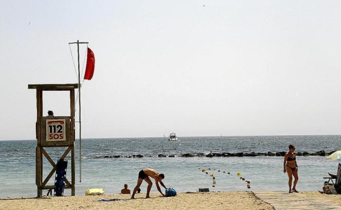 Der Strand von Ciutat Jardí im vergangenen Sommer.