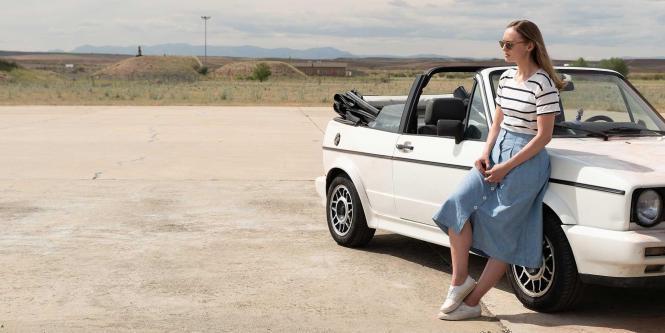 """Britin Laura Haddock in """"White Lines"""". Die ab 15. Mai ausgestrahlte Netflix-Serie stammt vom Produzenten des Netflix-HIts """"Haus des Geldes"""" und wurde auf Mallorca gedreht."""