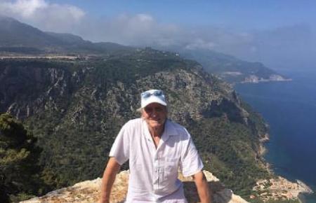 Dieses Foto zeigt Michael Douglas vor nicht allzu langer Zeit auf Mallorca.