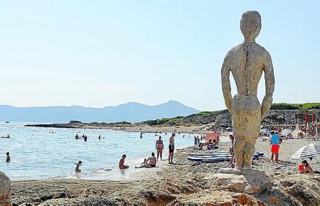 Die Playa de Son Bauló bei Can Picafort in einem der vergangenen Sommer.
