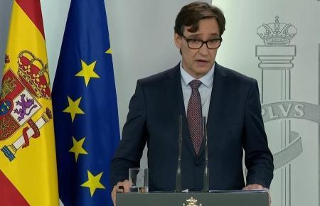 Der spanische Gesundheitsminister Salvador Illa (PSOE) bezog am Freitagnachmittag Stellung.