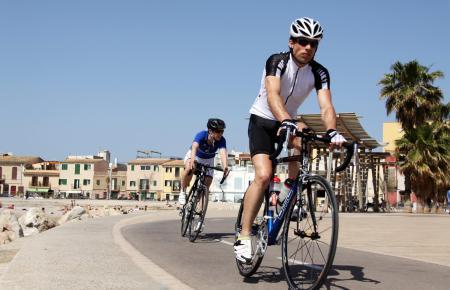 Radsport ist auf Mallorca nicht nur eine Sache für Touristen. Auch viele Einheimische trainieren regelmäßig.