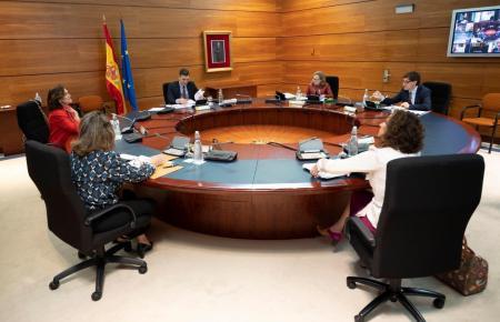 Kabinettssitzung der spanischen Regierung.