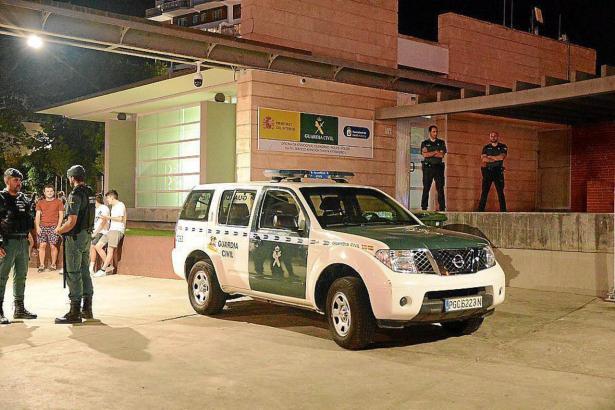 Die Polizei musste wegen eineer Prügelei um Mietschulden in Palmanova ausrücken.