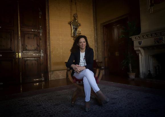 Catalina Cladera ist seit 2019 Präsidentin des mallorquinischen Inselrats. Zuvor war sie vier Jahre Ministerin für Finanzen und Katastrophenschutz.
