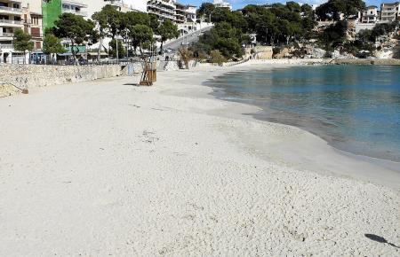 Der lauschige Strand von Porto Cristo.